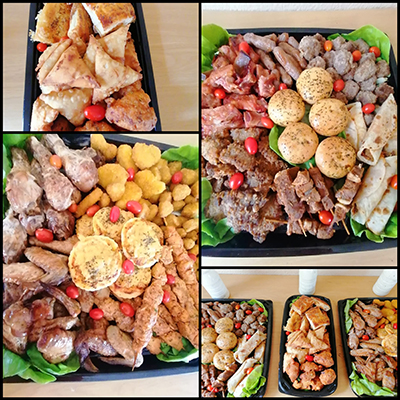 Platters – Various Savoury Platters on Requests